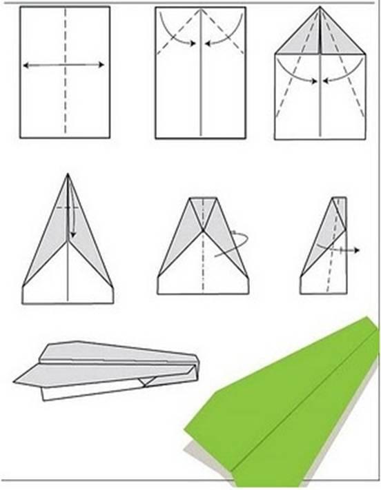 的方法_纸折飞机方法一